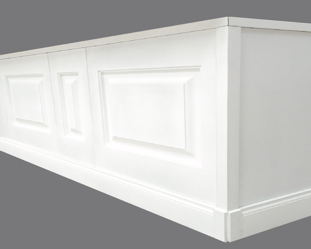 Base per Angolare B - Elemento accessorio per Panel B e Doghe - Decorget - Ital Decori - Image 1