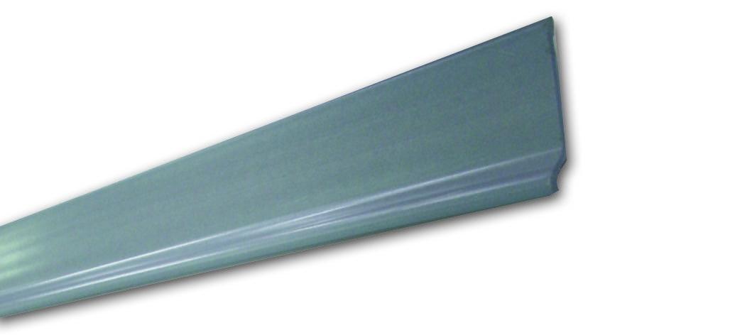Battiscopa Bg 7 Grigio - Battiscopa in PVC - Decorget - Ital Decori - Image 0