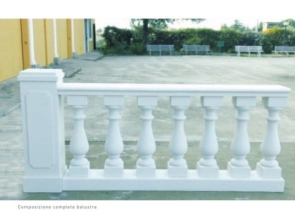 Colonna Quadrata Per Balaustra - Coprimuro - Decorget - Ital Decori - Image 4