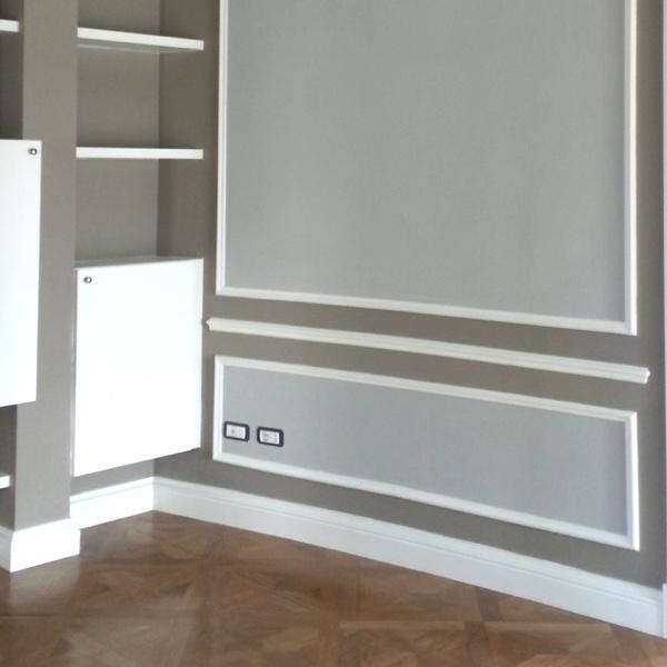 Dec 2 - Cornice in polimero bianco - Decorget - Ital Decori - Image 2