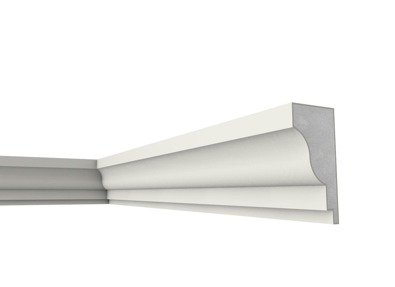 Fb 14 - Cornice e marcapiano in polistirene spalmato con graniglie - Decorget - Ital Decori - Image 0