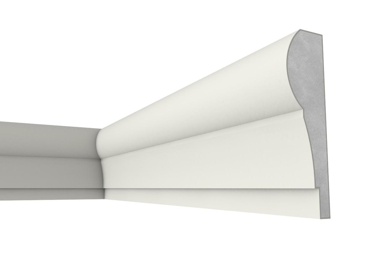 Fb 24 - Cornice e marcapiano in polistirene spalmato con graniglie - Decorget - Ital Decori - Image 0