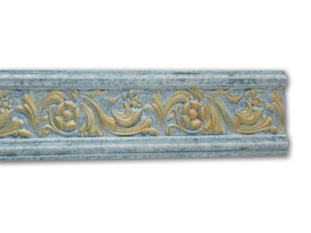 Floreale Blu - Cornice in polistirene serie classica - Decorget - Ital Decori - Image 0