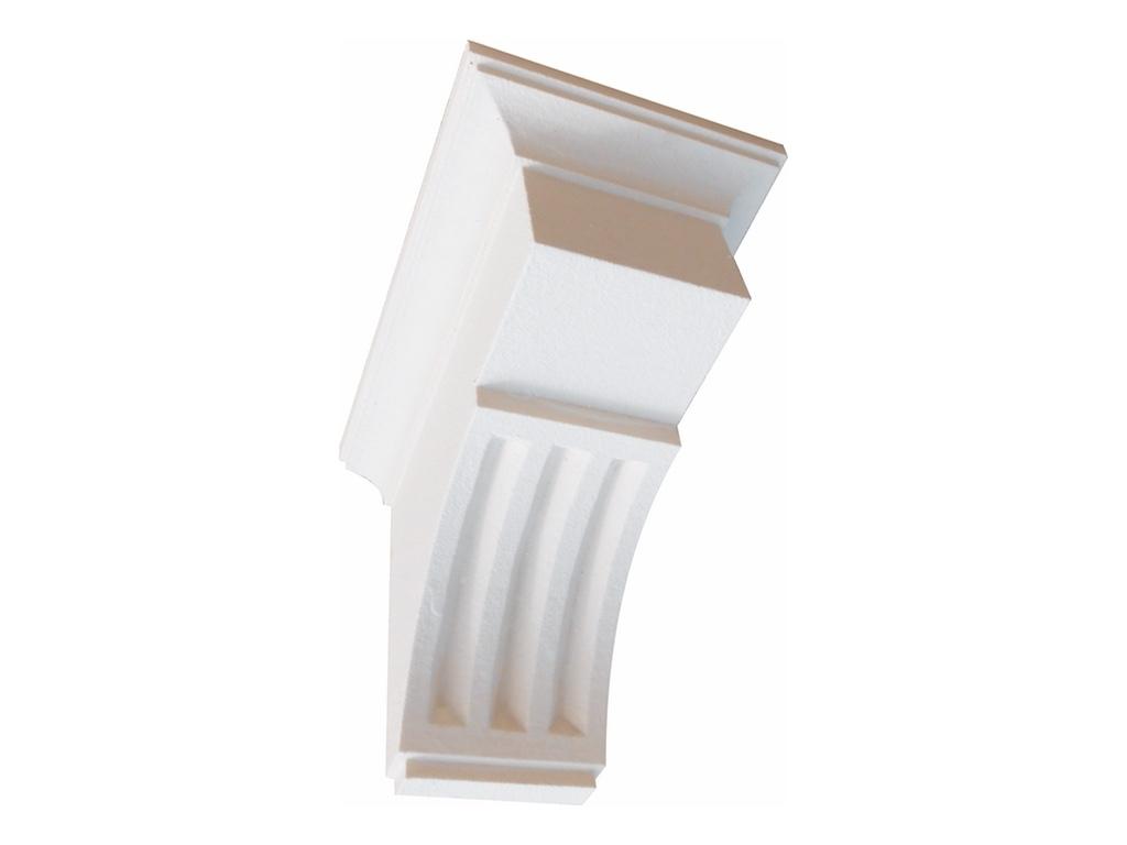 Gattone 3 - Mensola in polistirene spalmato con graniglie - Decorget - Ital Decori - Image 0