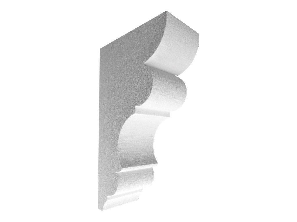 Master Esterno - Mensola in polistirene spalmato con graniglie - Decorget - Ital Decori - Image 0