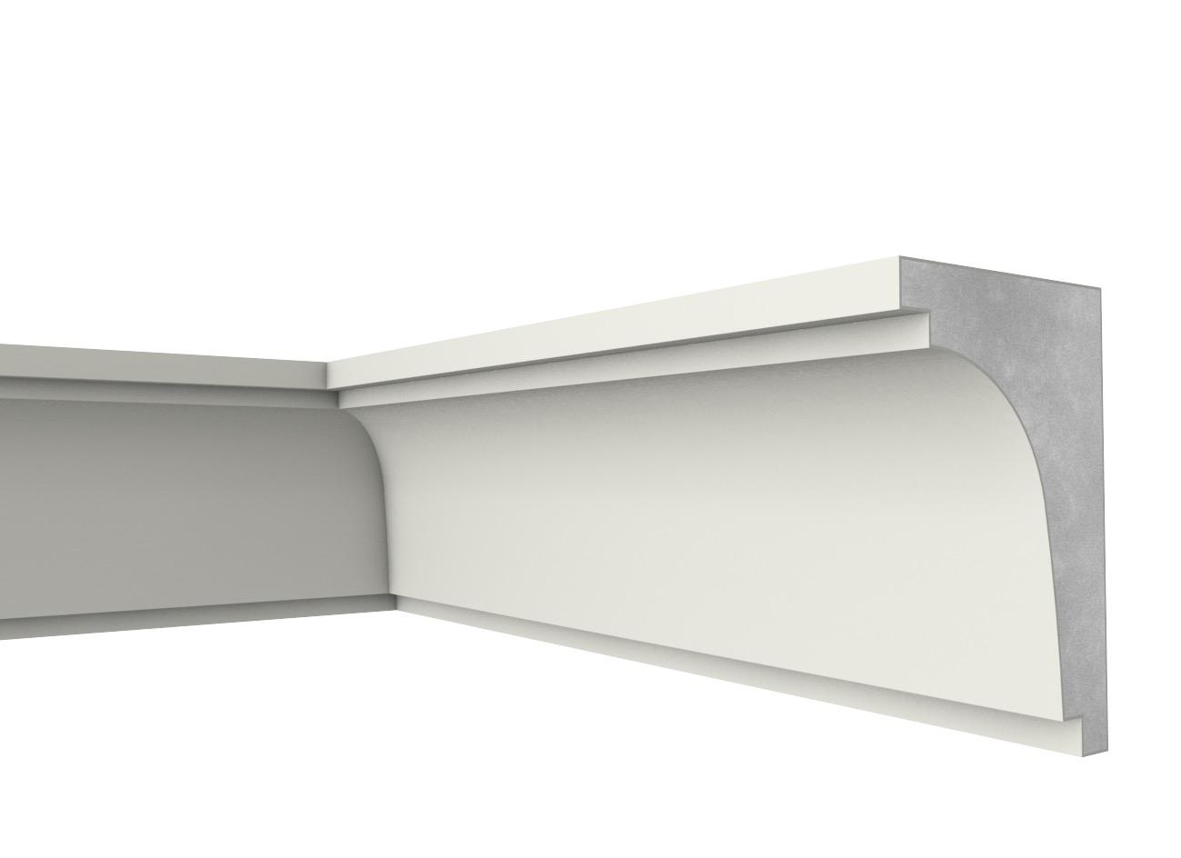 Mb 30 - Cornicione e sottogronda in polistirene spalmato con graniglie - Decorget - Ital Decori - Image 0