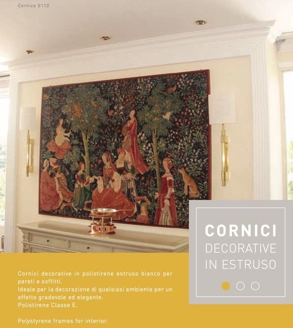 O 30 - Cornice in polistirene estruso bianco - Decorget - Ital Decori - Image 1