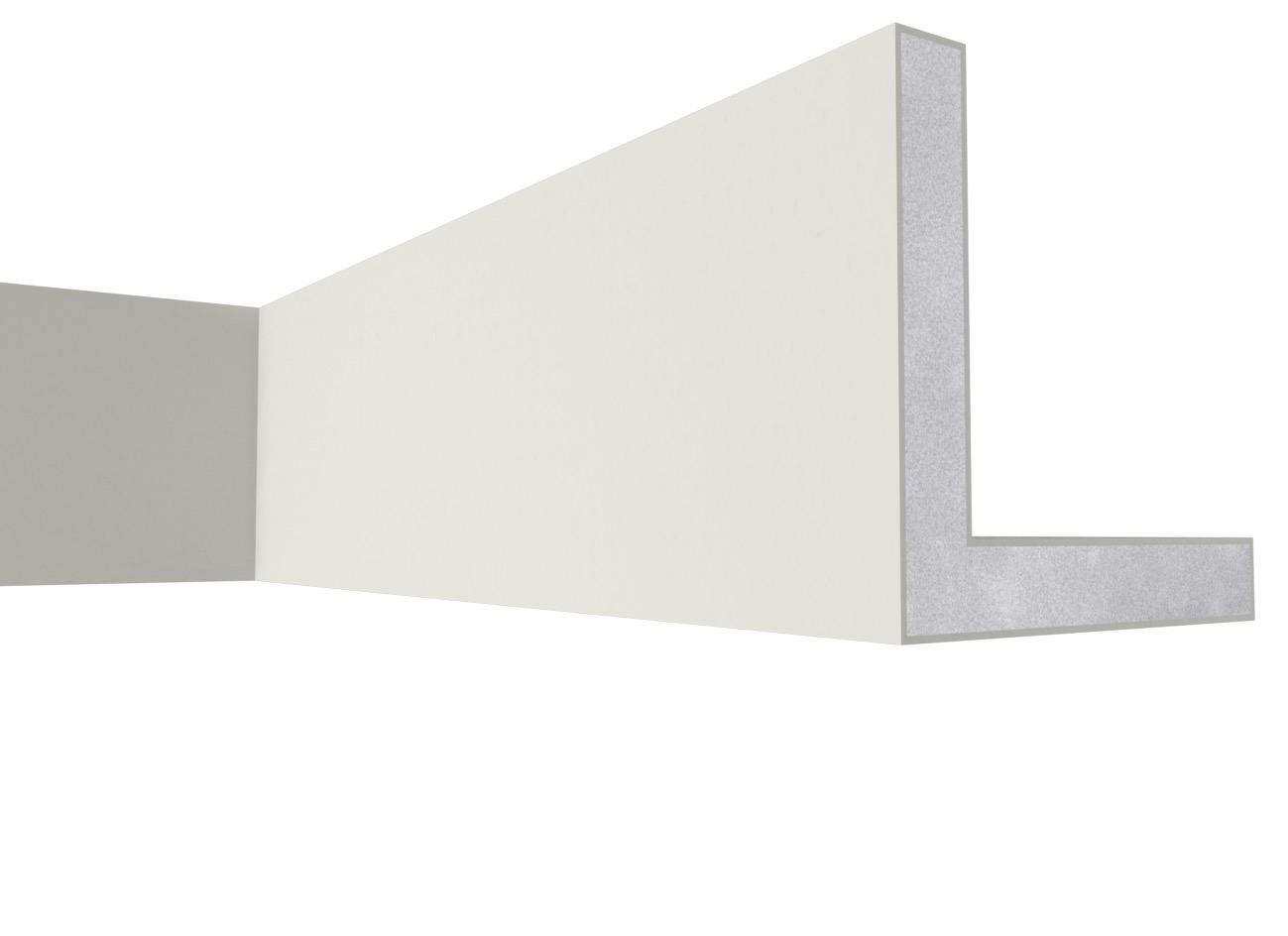 Par 15 - Cornice angolare in polistirene spalmato con graniglie - Decorget - Ital Decori - Image 0