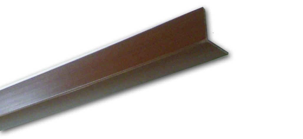 Pn 15 Noce Liscio  - Paraspigolo in PVC - Decorget - Ital Decori - Image 0