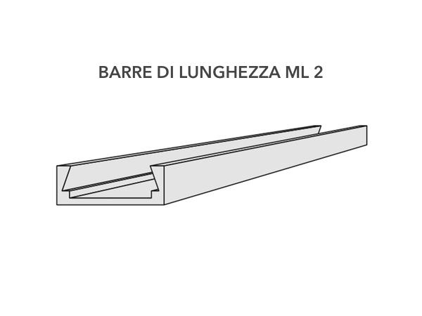 Profilo dissipatore per cornici led - Decorget - Ital Decori - Image 2