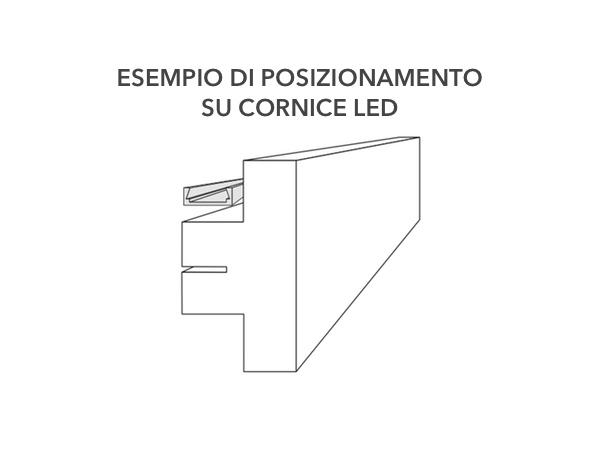 Profilo dissipatore per cornici led - Decorget - Ital Decori - Image 4