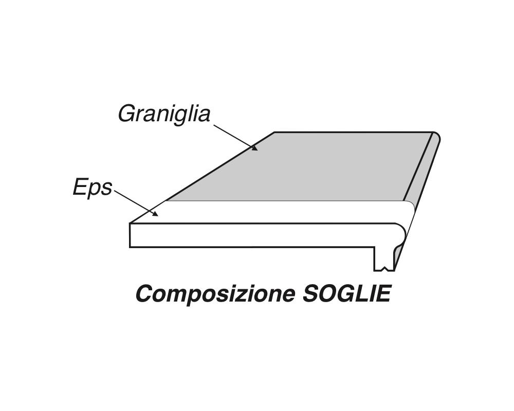 Soglia Alfa 200 - Soglia termica per finestre in EPS spalmato - Decorget - Ital Decori - Image 4