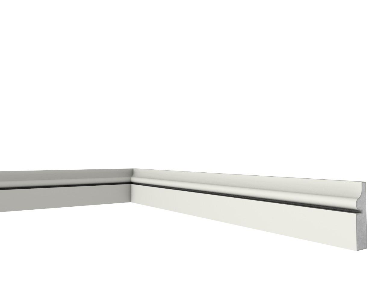 Zoccolo 3 - Zoccolo in polistirene spalmato con graniglie 200 CM. - Decorget - Ital Decori - Image 0