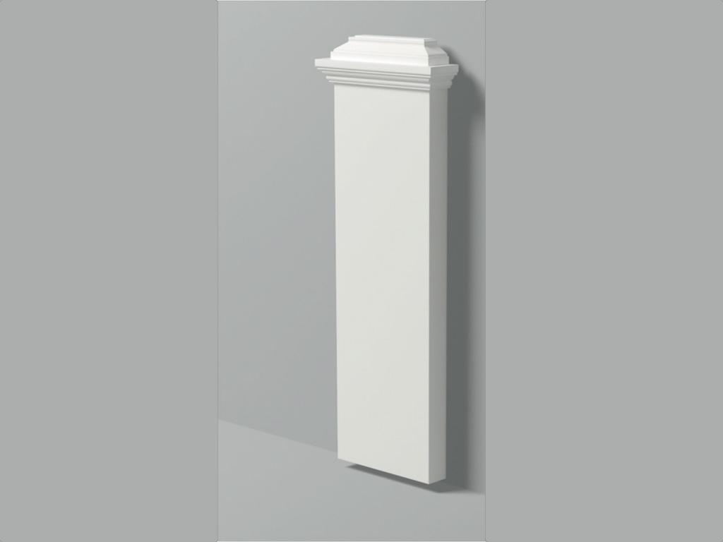 Base Pb 2 - Base in poliuretano bianco