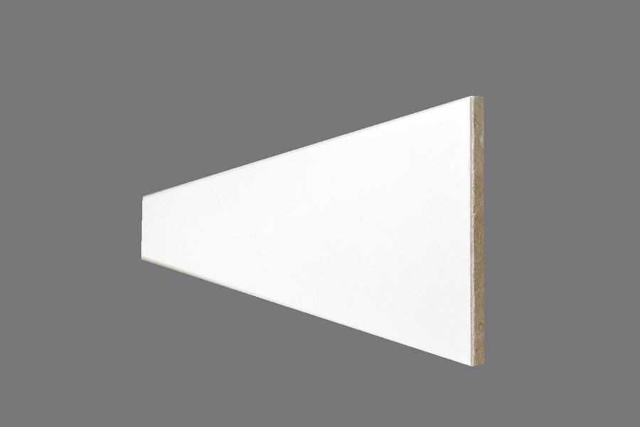 Battiscopa EH 9 - Battiscopa in MDF Light bianco
