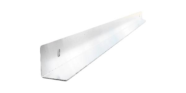 Guida In Alluminio Cm 2X2 - Guida preforata per alloggio tasselli