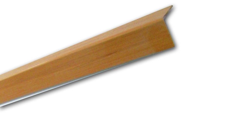 Pf 17 Frassino Liscio - Paraspigolo in PVC
