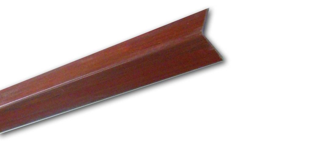 Pm 16 Mogano Liscio - Paraspigolo in PVC