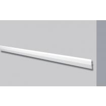 Dec 11 - Veletta cornice per led in polimero bianco