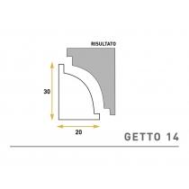 Getto 14 - Cornice sagomata in polistirene espanso