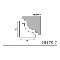 Getto 7 - Cornice sagomata in polistirene espanso