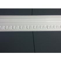 Profilo 4 - Profilo in polistirene stampato bianco