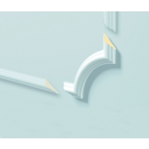 Z 103 - Angolo in polimero bianco