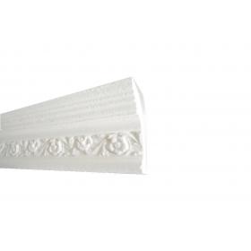 145 3 - Cornice in polistirene gessato bianco