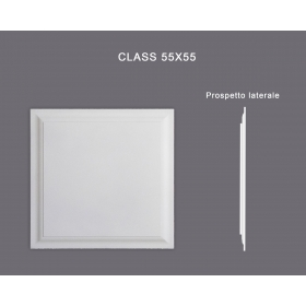 Class 55x55 - Pannello in MDF Light bianco