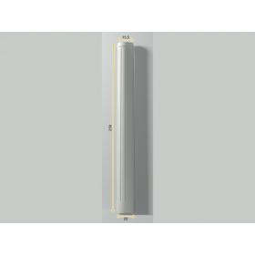 Colonna Fs 1 - Colonna in poliuretano bianco