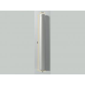 Colonna Ss 1 - Colonna in poliuretano bianco