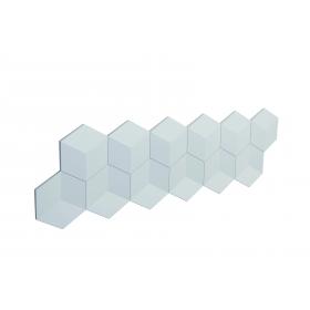 Cubos - Pannello 3D in poliuretano