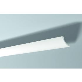 Dec 9 - Veletta cornice per led in polimero bianco
