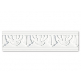 Dm 281 - Profilo in polistirene stampato bianco