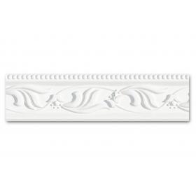 Dm 291 - Profilo in polistirene stampato bianco