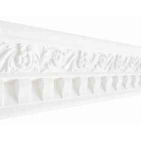 Domiziano Bianco - Cornice in polistirene gessato bianco