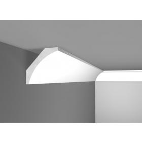 G 10X10 - Cornice in polistirene gessato bianco