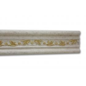 Giglio Anticato Oro - Cornice in polistirene serie classica
