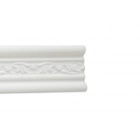 Giglio Bianco - Cornice in polistirene gessato bianco
