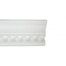 Imperiale Bianca - Cornice in polistirene gessato bianco