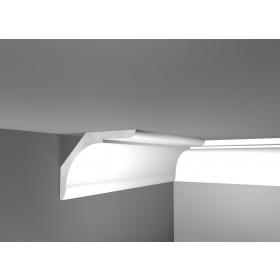 Lux 38 - Cornice in polistirene gessato bianco