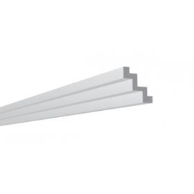 P 75  - Cornice in polistirene estruso bianco