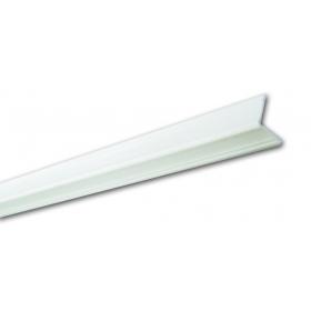 Pb 14 Bianco Lavorato - Paraspigolo in PVC