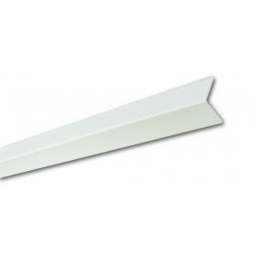 Pb 18 Bianco Liscio - Paraspigolo in PVC