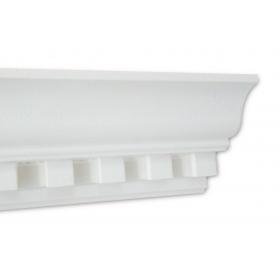 Pn Roma Bianca - Cornice in polistirene gessato bianco