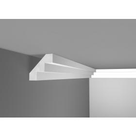 Scal 9  - Cornice in polistirene gessato bianco