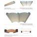 Trave per voltina a due incastri - Trave in polistirene - Decorget - Ital Decori - Thumbnail 1
