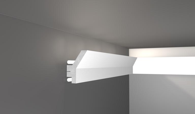 Prodotti decorativi per interni decorget for Cornici per strisce led