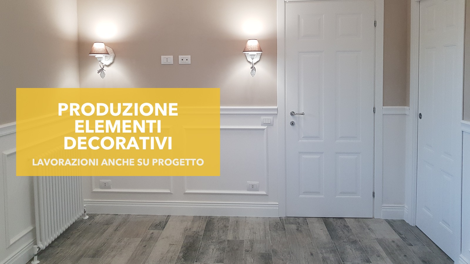 Design, Decorazione e finiture